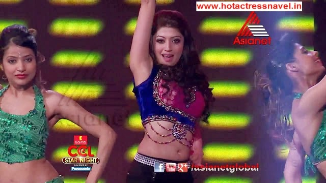 Pranitha Hot Navel Show In Dance Performance