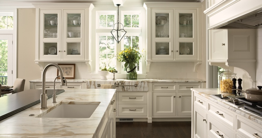 Rooms Bloom: My White Kitchen