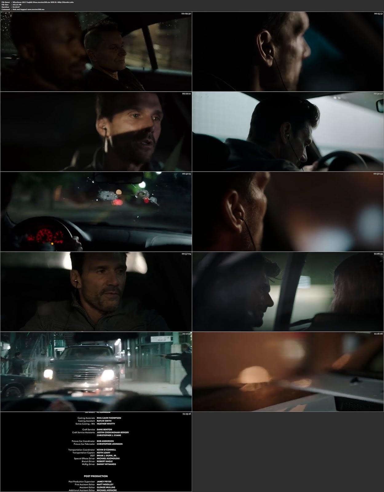 Wheelman 2017 Hollywood Full Movie WEB DL 480p at tokenguy.com