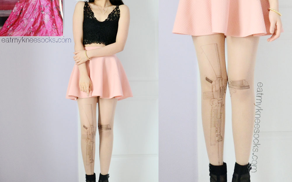 I'd give the gun tights from Brave Store a perfect rating for their style, detail, and quality!