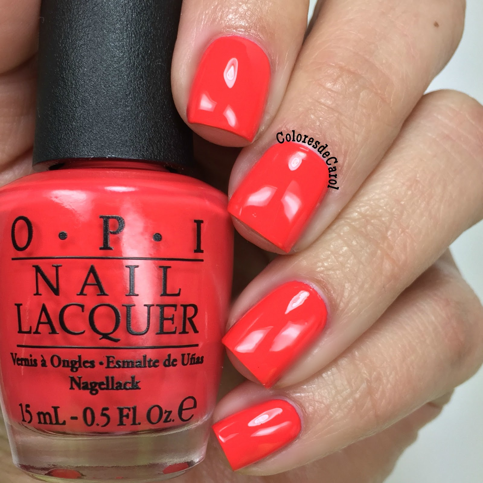 OPI Hawaii Collection, swatches and review. | Colores de Carol ...