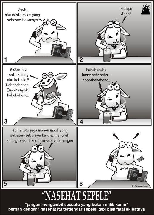 Shabir 17: Komik Domba Lucu