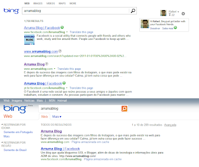 Imagem: Divulgação entre buscas do Bing - Microsoft