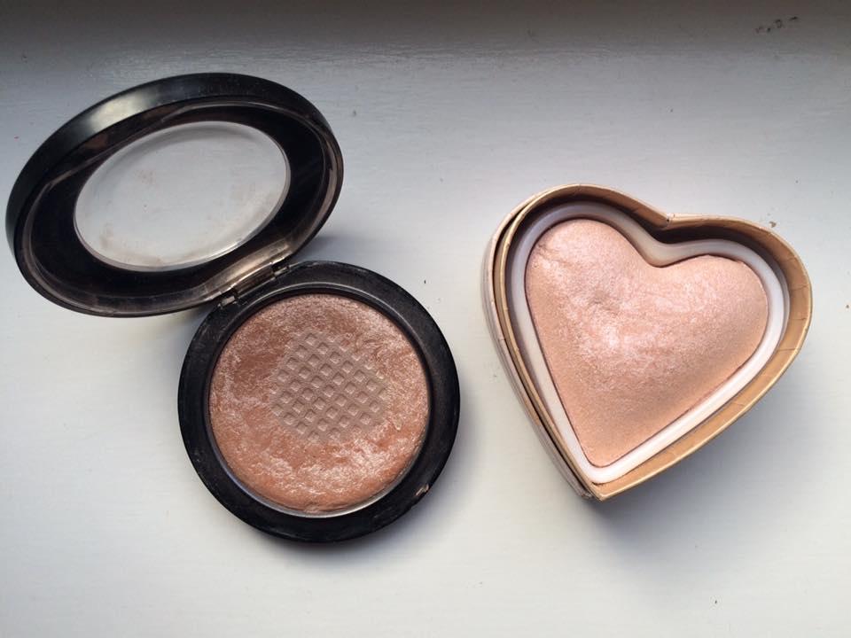 Mac Soft and Gentle vs MUR Goddess of Love