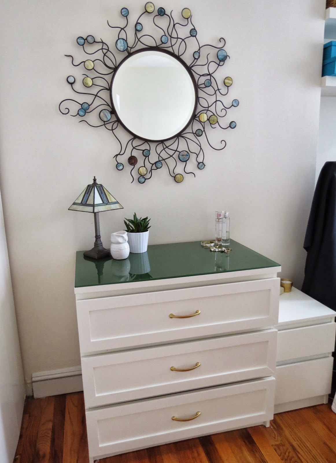 here 39 s another angle where you can see a hint of some other elements. Ikea Malm Dresser Hack   Home Design
