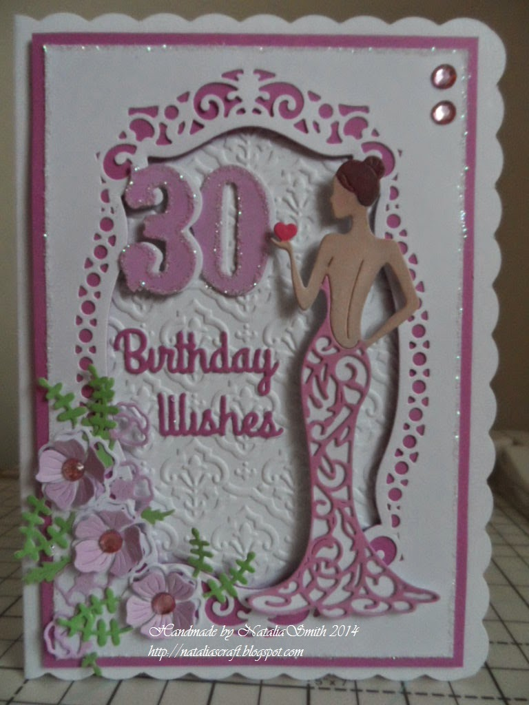 Marvelous Card Making Ideas Using Tattered Lace Dies Part - 2: For This Card I Used