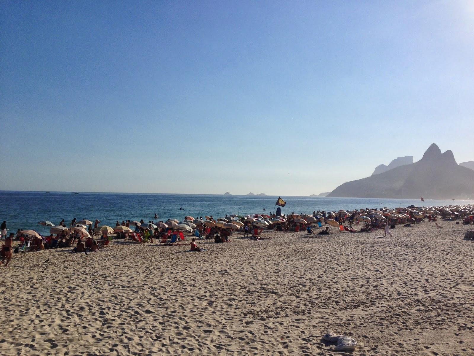 Praia de Ipanema, Rio de Janeiro, março 2014