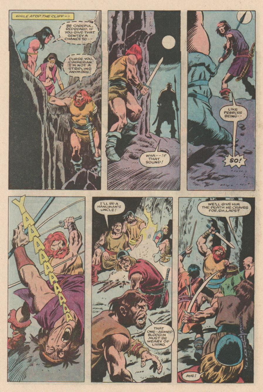 Conan the Barbarian (1970) Issue #167 #179 - English 10