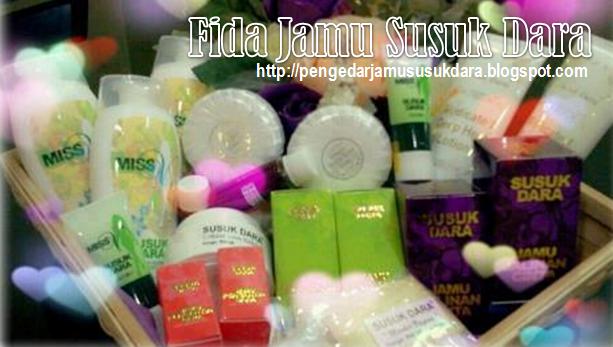 Rangkaian produk Jamu Susuk Dara