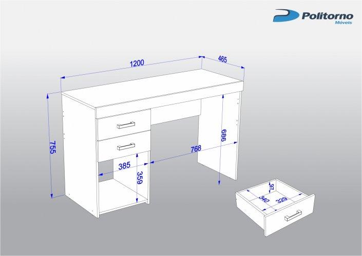 Interiores y 3d 3d studio max modelado de escritorio for Medidas ergonomicas de un escritorio