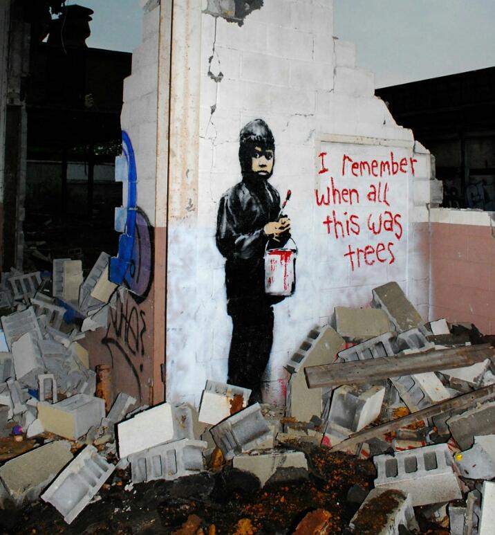 12 graffitis que exploram a consciência global
