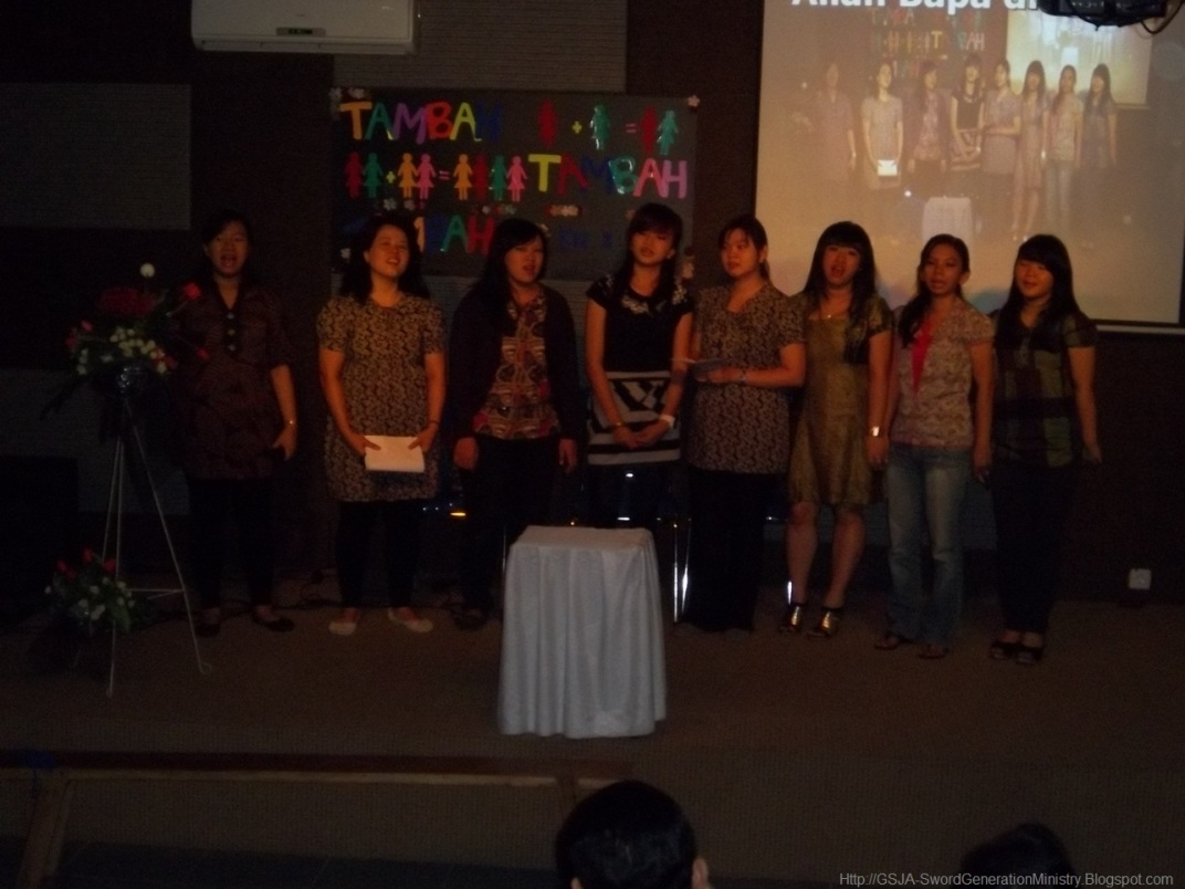 Pemain Drama Harnas Wanita GSJA Sword 2011