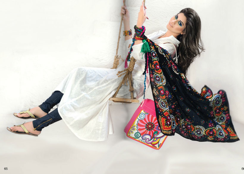 Al KaramLawncollection2012wwwShe9blogspotcom252862529 - Al-Karam Lawn Collection 2013