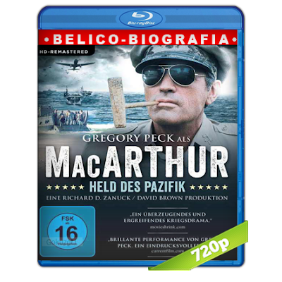 MacArthur El General Rebelde (1977) BRRip 720p Audio Trial Latino-Castellano-Ingles 5.1