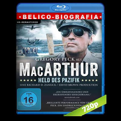 MacArthur El General Rebelde (1977) BRRip 720p Audio Trial Latino-Castellano-Ingles 5.1