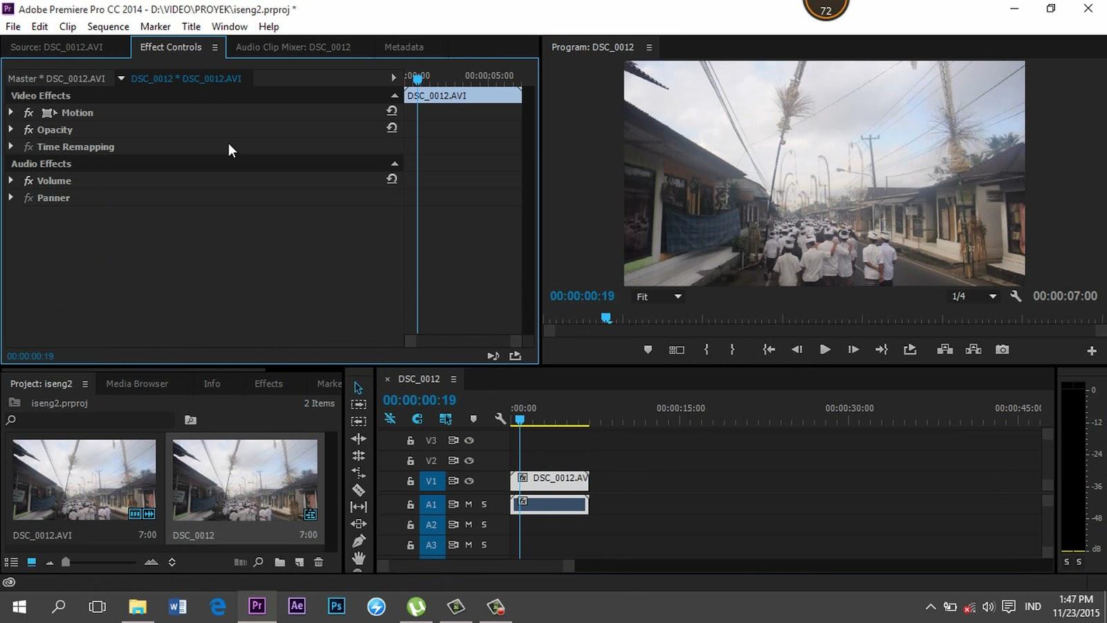 Как сделать звук в adobe premiere pro cc 603