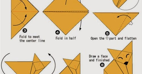 Origami Instructions For Kids Pdf Origami Flower Easy
