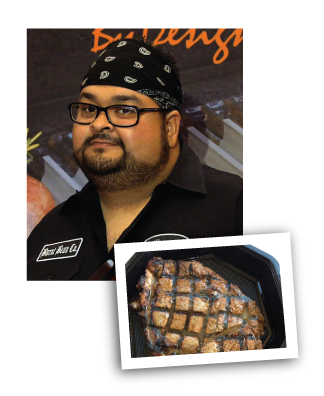 Ernest Servantes, 2012 Food Network Chopped Grill Masters Champion
