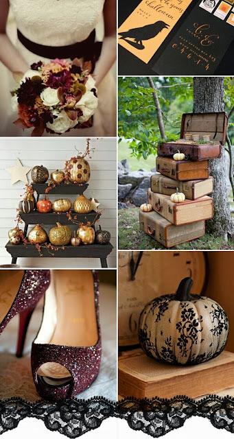 Ideas para una Boda en Halloween.