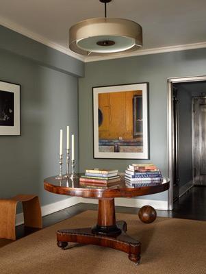nyc penthouse diningroom