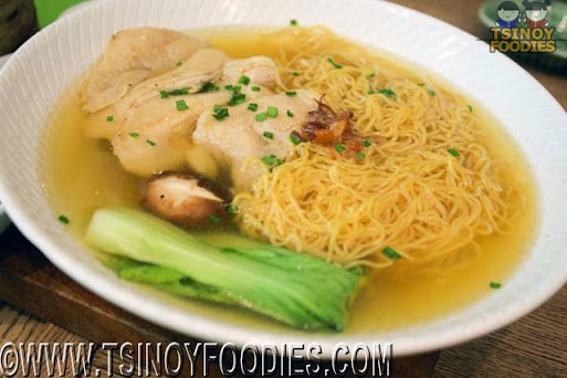 chicken hainan noodles