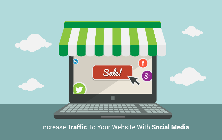 How To Catch Organic Traffic To eCommerce Websites With #SocialMedia