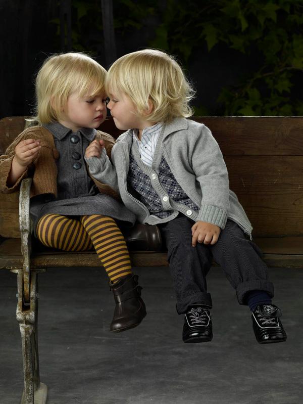 Dzieci w stylu vintage