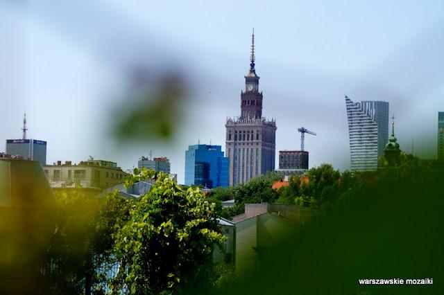panorama Warszawy punkt widokowy Warszawa Powiśle Biblioteka Uniwersytecka Dobra ogrody na dachu Irena Bajerska teren zielony
