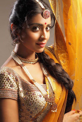 shriya saran new saree