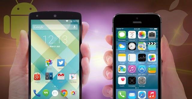"7 tính năng mới iOS 8 cần ""học hỏi"" Android 5.0 Lollipop"