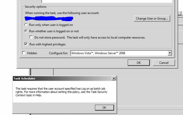 how to fix 0x1 error in task scheduler