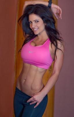 Denise Milani bikini fitness