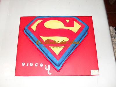 bolos decorados herois, bolos decorados super homem, bolos super homem, superman cake, Bolos Decorados