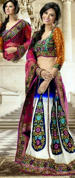 Indian lehenga collection 2014 by Utsav