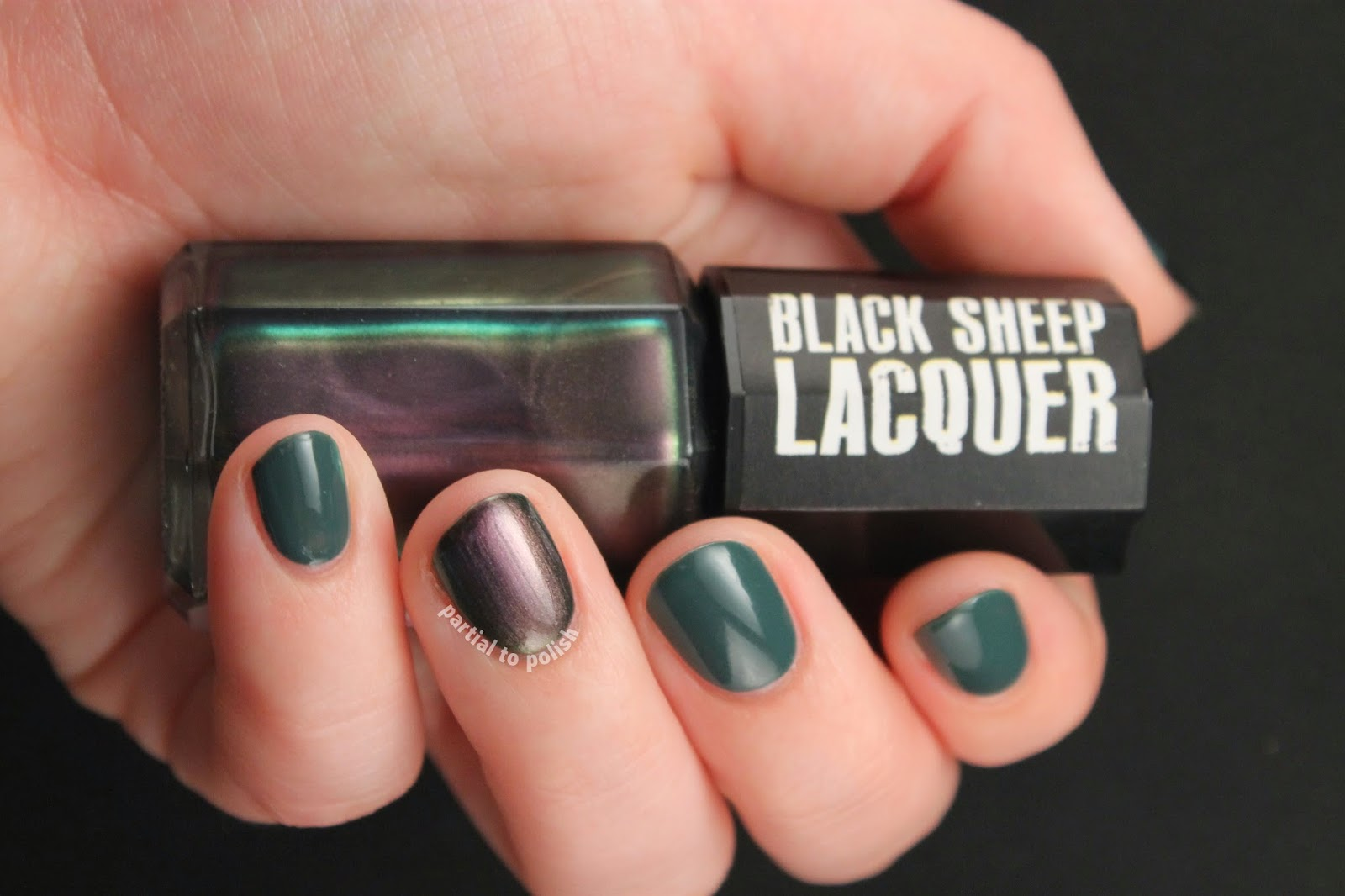 Black Sheep Lacquer Purple Planet