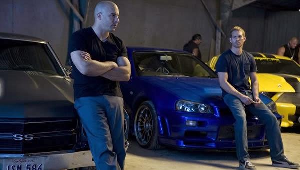 Vin Diesel and Paul Walker in Fast & Furious