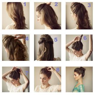 Peinados Elegantes, Moño Formal
