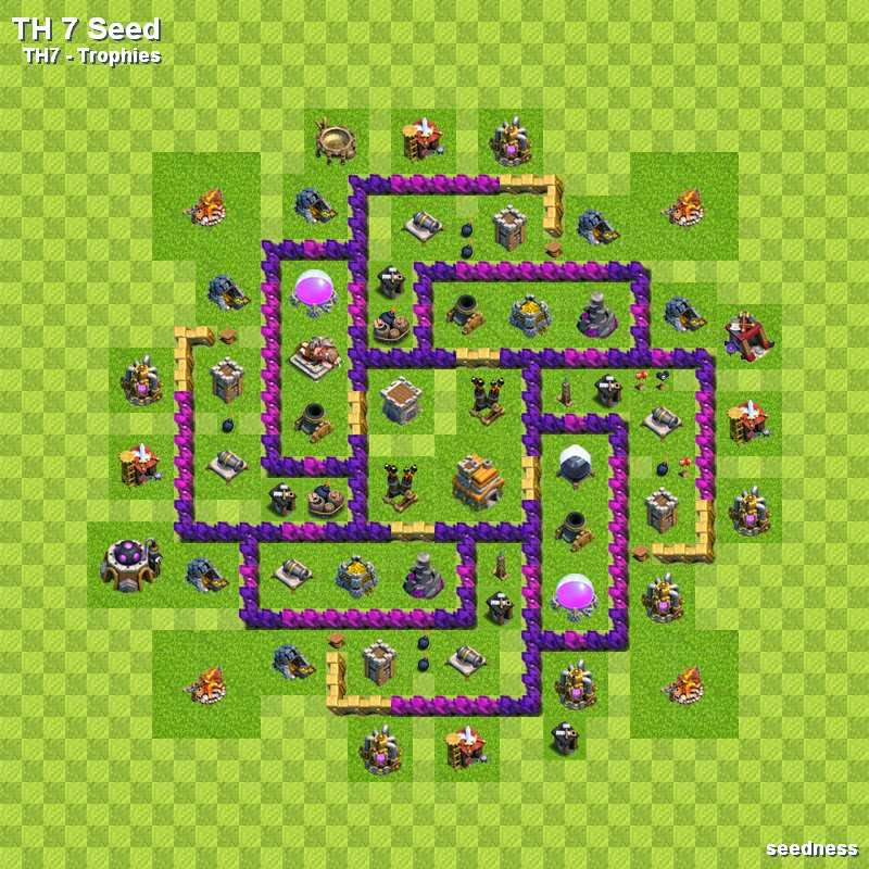 Layout 32522 800 Coc Th8 War Dragon Attack Strategy