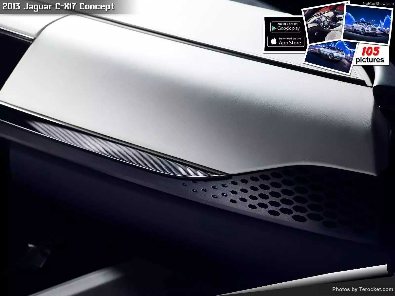 Hình ảnh xe ô tô Jaguar C-X17 Concept 2013 & nội ngoại thất