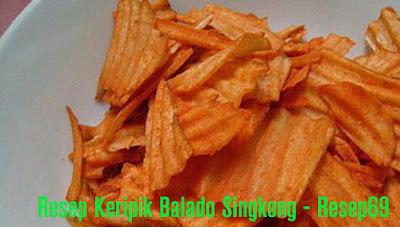 Resep Keripik Balado Singkong
