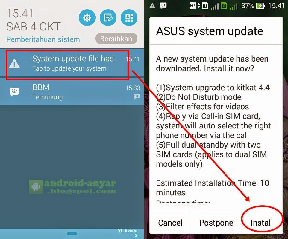 Cara Upgrade Android Jelly Bean ke KitKat 4.4.2 Asus ...