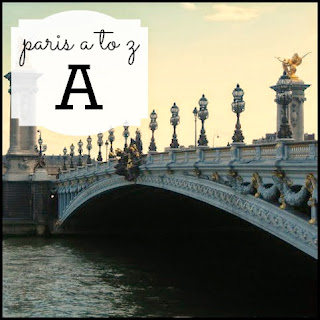 Paris A to Z: A is for Pont Alexandre III