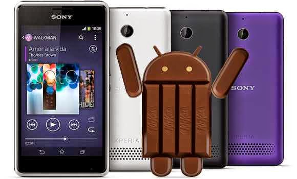sony-Xperia-E1-and-Sony-E1-duaL-get-update-android-kitkat