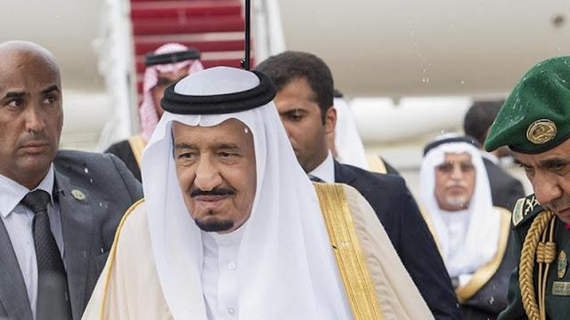 Rei Salman está a caminho de Meca