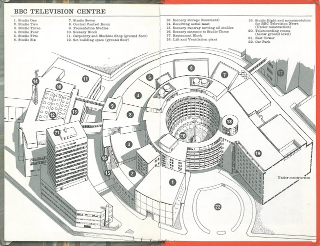 """BBC Television Centre"" ""BBC TV Centre"" ""Television Centre"" ""Bernard Robinson"""