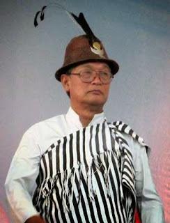 L.S Tamsang, President of Myang Lyang Lepcha Development Board MLLDB