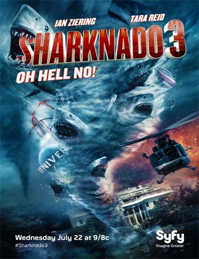 Ver Sharknado 3: Oh Hell No! (2015) Online