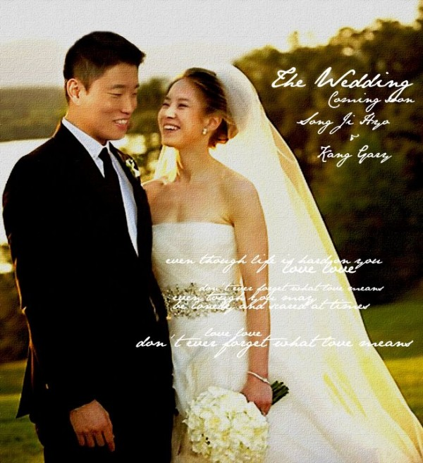gary with song ji hyo in a photoshopped photo 3