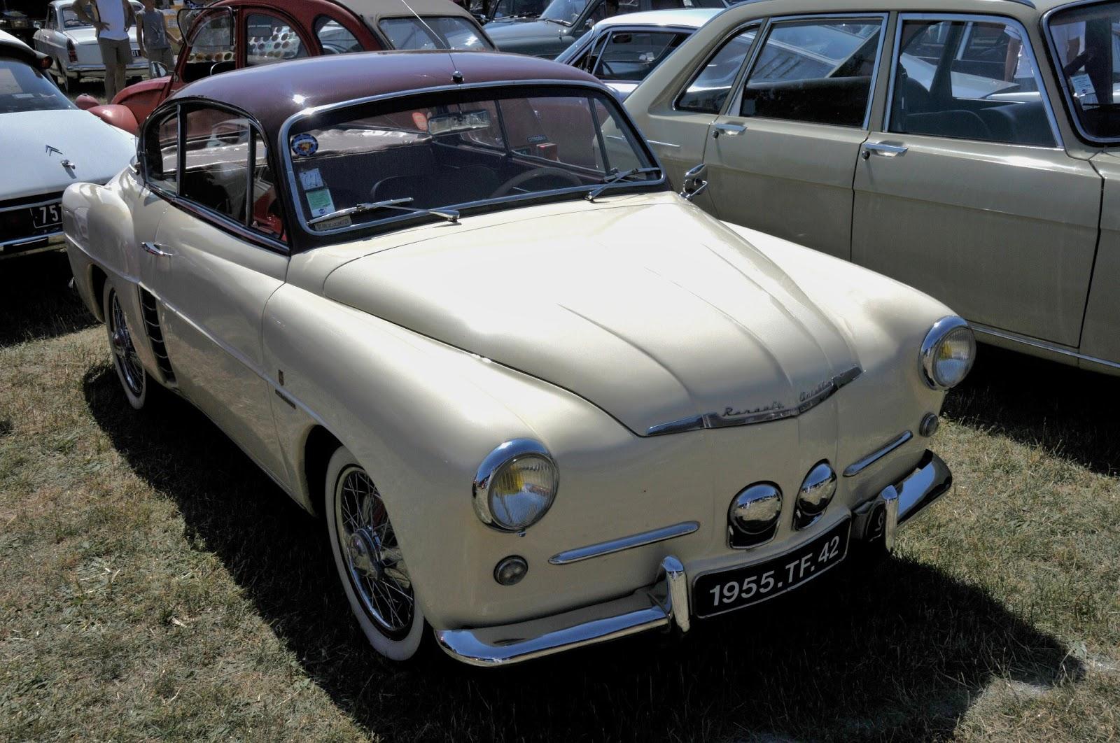 sport automobile  anciennes et modernes  renault 4cv