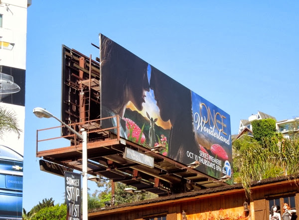 Once Upon a Time in Wonderland billboard